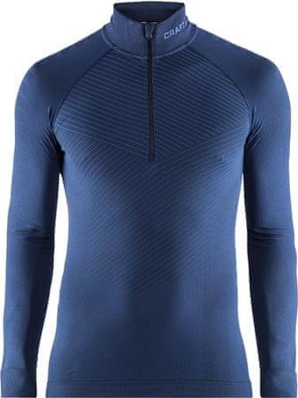 Craft moška majica Active Intensity Zip, temno modra, S