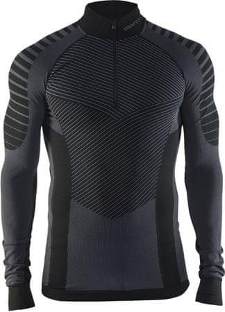 Craft moška majica Active Intensity Zip, črna, S
