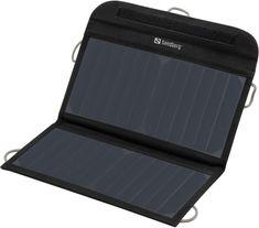 Sandberg Solar Charger 13W 2xUSB napelemes töltő, fekete 420-40