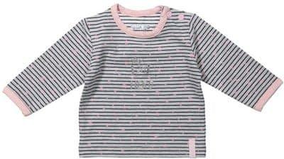 Dirkje dívčí tričko s proužky 62 vícebarevná