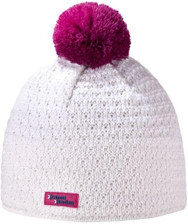 Kama czapka dzianinowa Merino Kamakadze K36 M naturalny biały