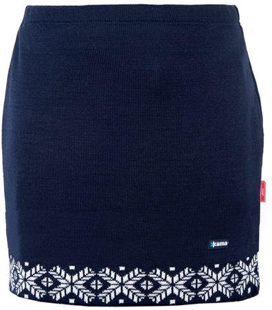 Kama spódnica Merino 6002 XL ciemnoniebieska