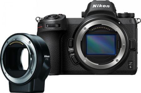 Nikon lustrzanka cyfrowa Z6 + FTZ Adapter Kit