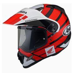 Arai enduro-moto prilba TOUR-X 4 Honda Africa Twin Red