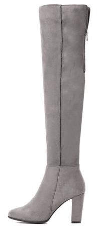 Vices női hosszú szárú csizma 38 szürke
