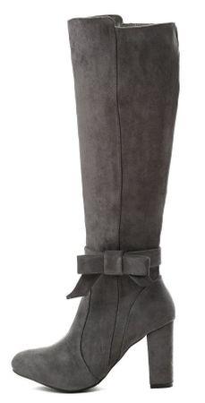 Vices ženski škornji, 35, sivi