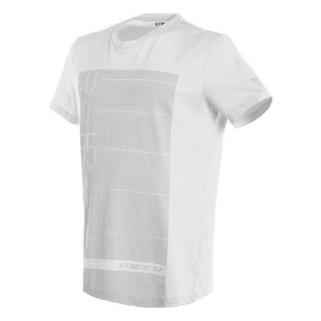 ac9a74ff983e Dainese pánske tričko s krátkym rukávom LEAN-ANGLE vel.L biela