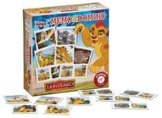 Piatnik Memo/Domino Lion Guard társasjáték - Magyar nyelvű