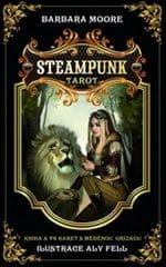 Moore Barbara: Steampunk tarot - kniha + 78 karet