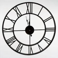 Danish Style Nástěnné hodiny Old Style, 60 cm, černá