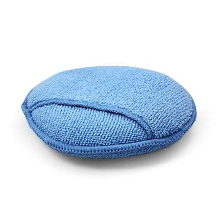 KAJA Hubka z mikrovlákna na umývanie a leštenie, 280 g / m², 12 cm, modrá, 10 ks v balení