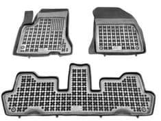 REZAW-PLAST Gumové koberce, súprava 3 ks (2x predné, 1x spojený zadný), Citroen C4 Picasso, C4 Grand Picasso 2006-2013