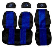 F-CORE Poťahy na sedadlá PS03, modré