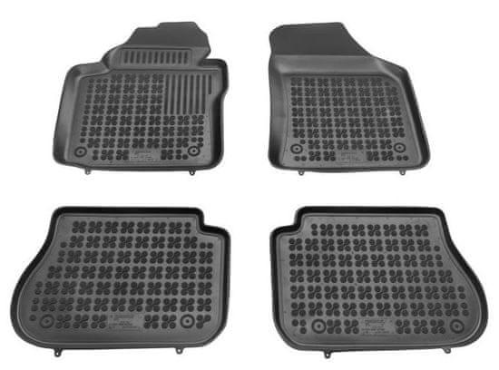 REZAW-PLAST Gumové koberce, súprava 4 ks (2x predné, 2x zadné), VW Caddy od r. 2003, Caddy Life Maxi od r. 2008