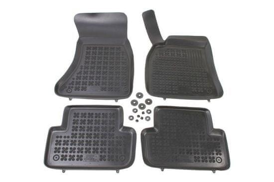 REZAW-PLAST Gumové koberce, súprava 4 ks (2x predné, 2x zadné), Audi A4 (B8) 2008-2016, Audi A5 Sportback od r. 2009