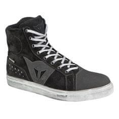 Dainese kotníkové skútr boty STREET BIKER D-WP černá/antracitové logo