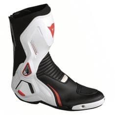 Dainese moto boty COURSE D1 OUT černá/bílá/červená