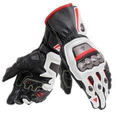 Dainese pánske rukavice na motorku FULL METAL 6 biela/čierna/červená