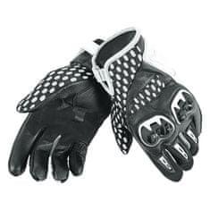 Dainese letní moto rukavice  AIR HERO UNISEX bílá/černá, textil (pár)