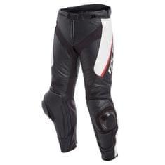 Dainese pánske kožené moto nohavice  DELTA 3 čierna/biela/červená