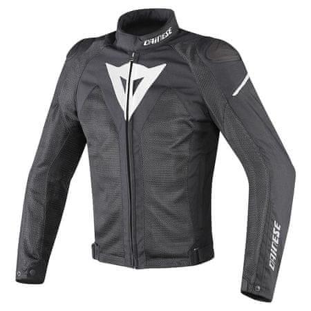 Dainese bunda HYPER FLUX D-DRY vel.46 černá/bílá, textilní