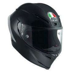 AGV závodné/športové moto prilba CORSA R čierna matná