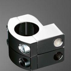 Highway-Hawk univerzální objímka  na řidítka 25mm, pro zpětná zrcátka, chrom (1ks)