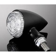Highway-Hawk kombinované moto blinkre ALL IN ONE s LED, E-mark, čierna (2ks)