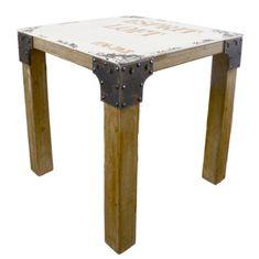 Danish Style Jedálenský stôl drevený Loft, 76 cm