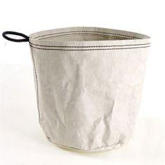 Danish Style Úložný vak z recyklovaného papíru Papper L, šedá
