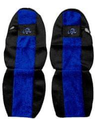 F-CORE Poťahy na sedadlá PS08, modré