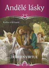 Virtue Doreen: Andělé lásky - Kniha a 44 karet