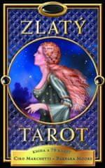 Marchetti Ciro, Moore Barbara: Zlatý tarot - kniha + 78 karet