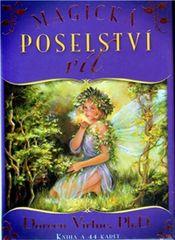 Virtue Doreen: Magická poselství víl - kniha a 44 karet