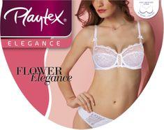 Playtex FLOWER ELEGANCE 3/4 CUP BRA
