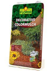AGRO CS FLORIA Decorative ColorMulch HNĚDÁ 70 L