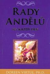 Virtue Doreen: Rady andělů na každý den - kniha a 44 karet