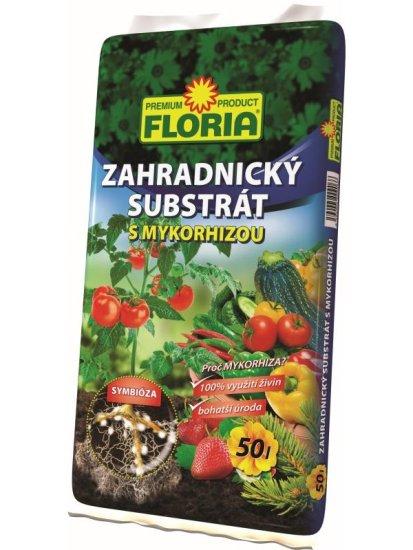 AGRO CS FLORIA Zahradnický substrát s mykorhizou 50 L
