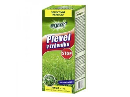 AGRO CS Plevel v trávníku STOP 250 ml