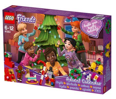 LEGO kalendarz adwentowy Friends 41353