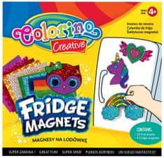 Sada magnetů s barevnými fóliemi mix motivů