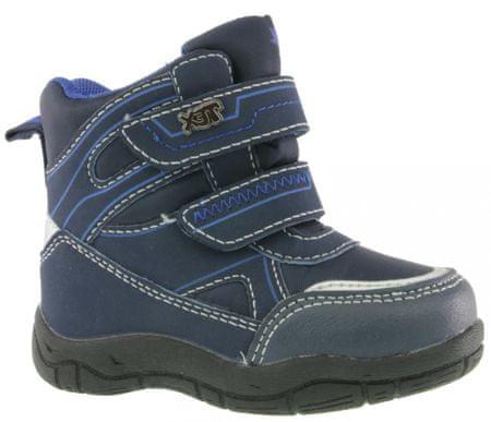 V+J buty za kostkę chłopięce 21 niebieski