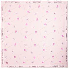 VERSACE 19.69 dámský světle růžový šátek Empire 1969