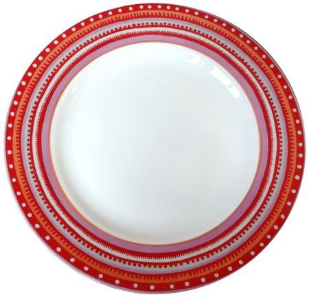Oilily TTC talíř 22,5cm, 4 ks 15166