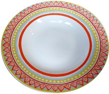 Oilily TTC talíř na těstoviny 24,5cm, 4 ks 15204