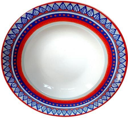 Oilily TTC talíř na těstoviny 24,5cm, 4 ks 15201