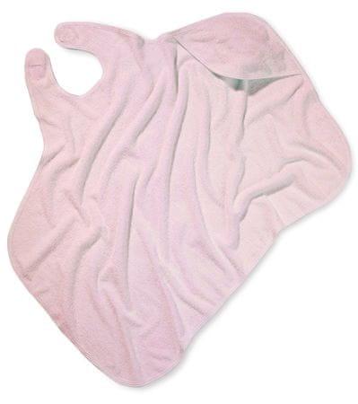 Simply Good Kapucnis törölköző, rózsaszín