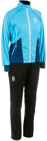 Bjorn Daehlie ženski športni komplet Ridge W, S, modro/črn