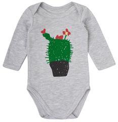 Garnamama body dziecięce z kaktusem