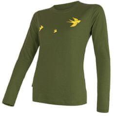 Sensor ženska majica s kratkimi rokavi Merino Active Pt Swallow, S